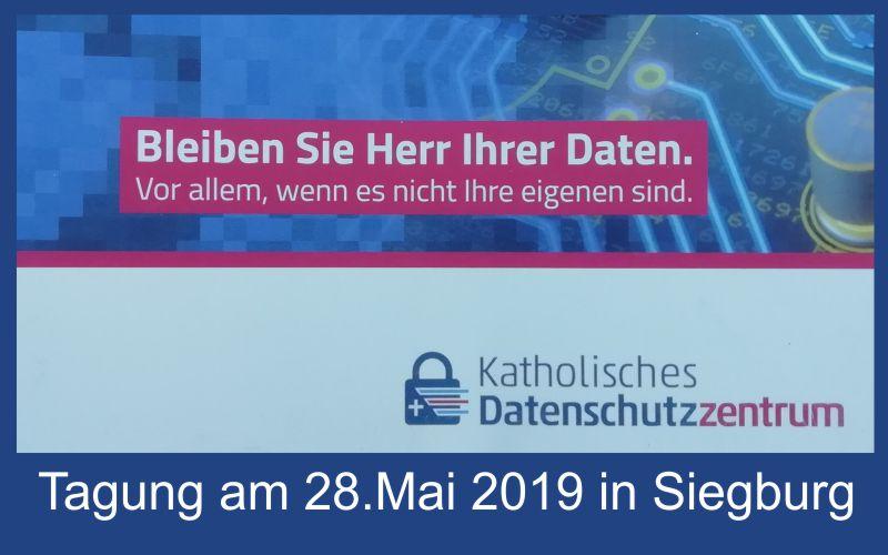 Tagung des Katholischen Datenschutzzentrums in Siegburg